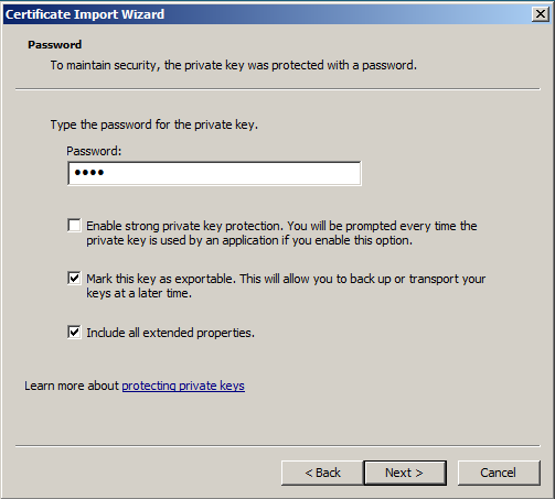 Windows SSL Import 4