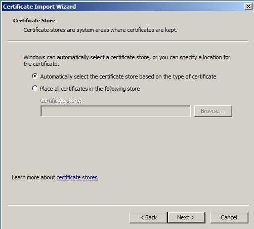 Windows SSL Import 5